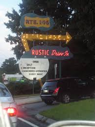 rustic drive in