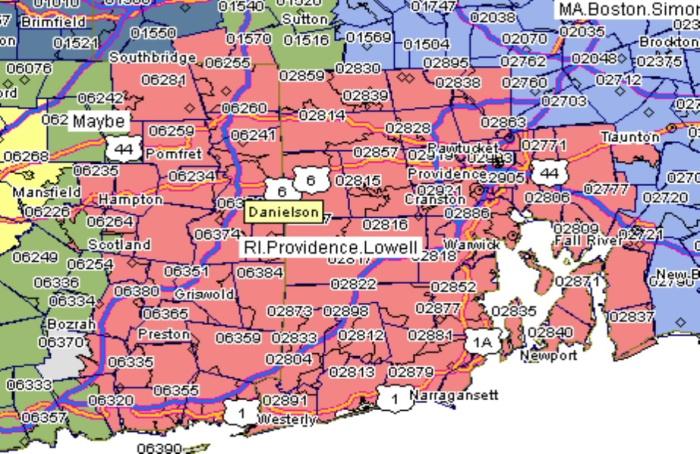 GAP Providence territory map