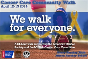 Thank you Milton Hershey and American Cancer Society
