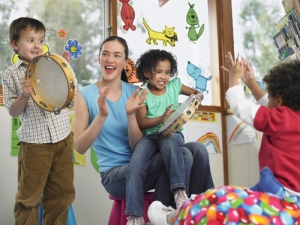 Make music with your au pair!