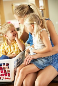 Au pairs provide I've in childcare and related tasks for your children!